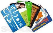 Пластиковые дисконтные карты,  идинтификационные и скретч-карты.
