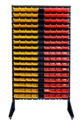 Стойка 1, 8 м стеллаж + контейнеры 153 шт