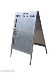 Штендер металлический,  щит деревянный,  стритлайн,  указатель дорожный